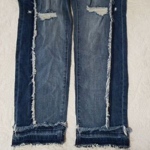New York & Company Jeans - NWT GABRIELLE UNION Distressed Straight Leg Jeans